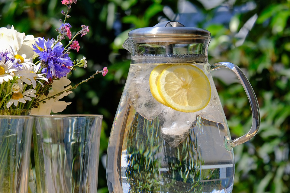 Staying hydrated is a good way to avoid heat-related illness