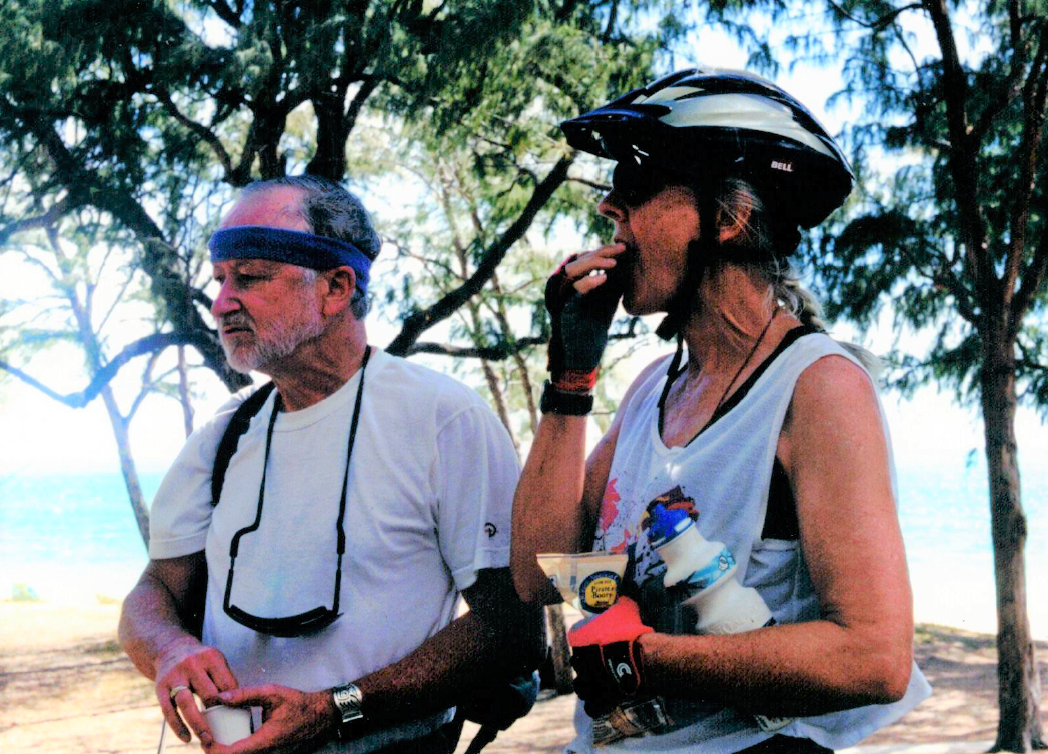 Two Forest cyclists spend time in Hawaii.
