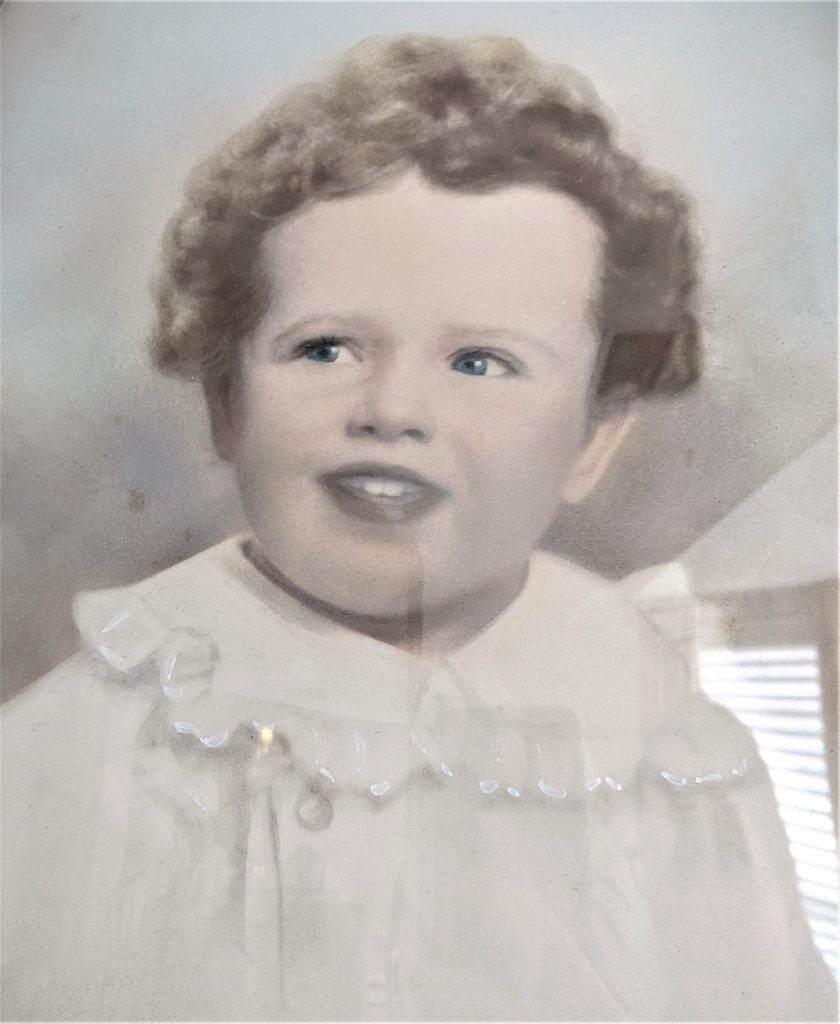Baby Vic Moore in 1935.