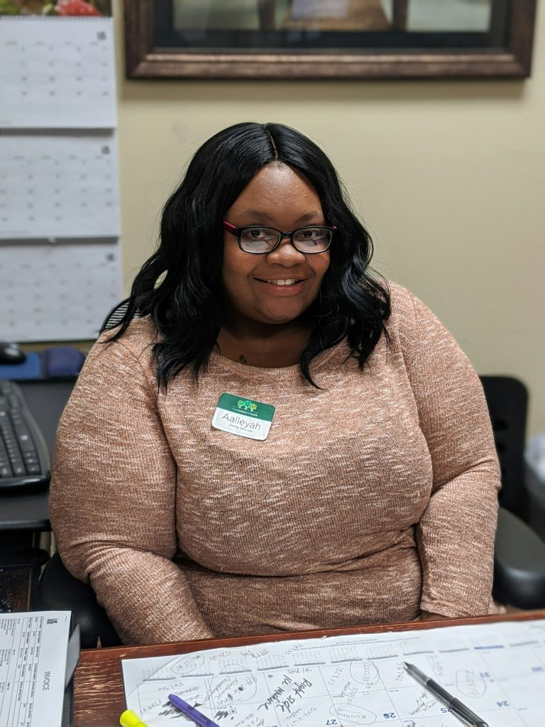 Photo of Aalleyah McKay, Dining Coordinator at The Forest.